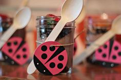 These ladybug kids birthday party ideas will inspire your next party! #kidsbirthday #peartreegreetings #ladybug #birthdaypartyideas