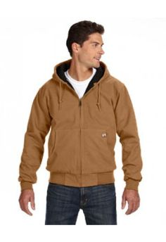 5020T Dri Duck Tall Cheyene Jacket:  12 oz., 100% cotton quarry washed Boulder Cloth™ canvas diamond quilted brushed tricot lined body and hood articulated elbows inside cell phone and patch pockets with snap closure rib knit cuffs and waistband with spandex heavy-duty metal zipper with DRI DUCK pull