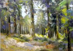 Forest  50x70 oil on canvas
