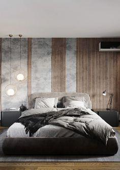 Breaktaking Modern Bedroom Wall Designs For Bedroom Decor Luxury Bedroom Design, Master Bedroom Design, Bedroom Art, Master Suite, Bedroom Furniture, Ikea Bedroom, Bedroom Black, Bedroom Wardrobe, Wooden Furniture