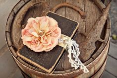 Flower with book