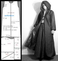 Pattern: Slim Cloak by eqos