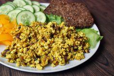 Dewii: Veganská míchaná vajíčka z tofu