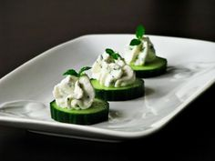 Easy Cucumber Appetizer Bites