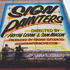 """Great documentary about the lost art of hand-painted signs. I felt like a had a bit of a """"hand lettering is dying"""" tone. There's no doubt that the industry was hit hard in the 80s, but I think the appreciation for this art is returning."""