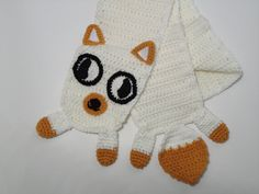 Sweet Babies It's an Adventure Time inspired Cake the Cat scarf. $39.00, via Etsy.