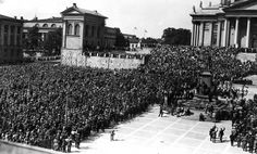 A great rightist demonstration in Helsinki in the 20s. Unlike in many other European countries, the far right never got into power in interwar period.