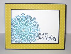 Moroccan Birthday by Christy S. - Cards and Paper Crafts at Splitcoaststampers
