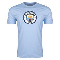 Manchester City Supersoft T-Shirt (Blue)