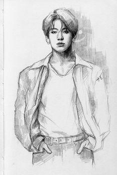 Jungkook drawing