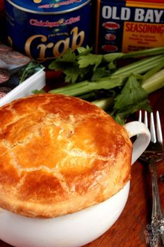 Jumbo Lump Crab Pot Pie : The Gourmet Kitchen