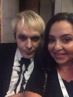 Nick Rhodes shoots the best selfies! Duran Duran Le Wow!