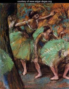 Dancers 3 - Edgar Degas - www.edgar-degas.org