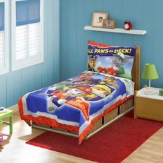 Nickelodeon™ PAW Patrol 4-Piece Toddler Bed Set - BedBathandBeyond.com