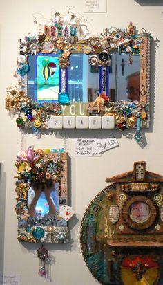 """You Are Smart"" Art Mirror by Cindy Ridolfino"