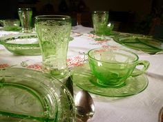 Depression glass - I need to photograph my collection :)