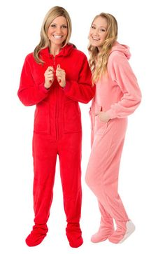 bd05b37406 Plush Hoodie Footed Onesie Pajamas for Men   Women by Big Feet Pajama  Company