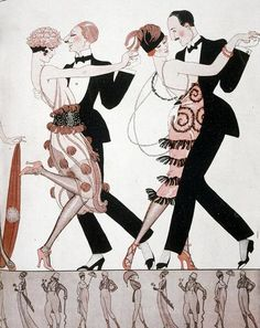 , Art Deco, Ballroom Dancing, Costume, Dress, Fashion, Romance