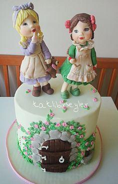 Tatlıbirşeyler: Secret Garden cake