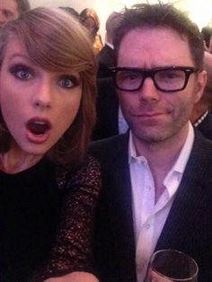 "Taylor Swift and Bobby Bones ""The Taylor Selfie Special"" lol ♡ Live Taylor, Taylor Alison Swift, Bobby Bones, Ethel Kennedy, Best Selfies, Swift Photo, Lets Dance, Celebs, Celebrities"