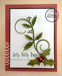Holly & Swirls #ajillianvance