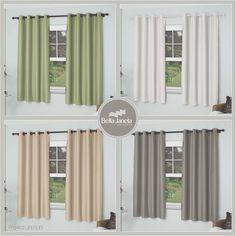 Separamos algumas das cores da cortina Pratika Uni Rubi para você conhecer, qual combina mais com a sua casa? <3