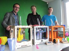 Siert Wijnia | Zijn dit de nieuwe Steve's? #OZNS Ultimaker founders #3Dprinting | https://www.ultimaker.com/pages/company/about-us