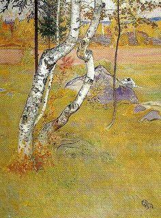 Carl Larsson ~ bjorkarna