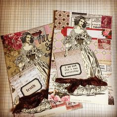 Mail Art #mailart #maillove #vintage #collage #paperlove
