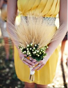 Wheat Bouquet.