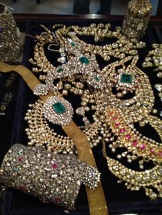 10 million dollars of jewels at the gem place. Jaipur.
