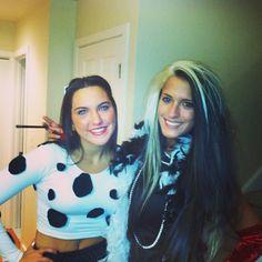 Disney Duos: 21 Brilliant Costumes For Best Friends Dalmation and Cruella de Vil