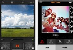 Great photo app for iPhone (with filter, borders and more) is free today  !
