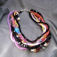 Lucet necklace