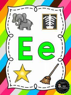 Alphabet, Toddler Worksheets, K 1, Spanish Language, Phonics, Montessori, Homeschool, Clip Art, Teacher