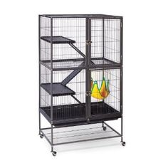 A huge, durable cage for the cheapest I could find anywhere - it's half the retail price and is currently $160 on Amazon