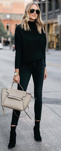 black on black + nude detail