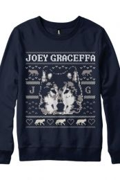 Joey Graceffa, Wolf Crewneck (Navy)