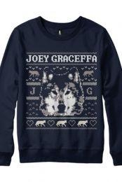 Joey Graceffa, Wolf Crewneck (Navy)