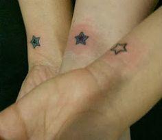 Tatuagens femininas no pulso com estrelas - foto 6