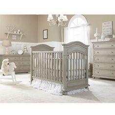 30% off Naples Traditional Crib and Dresser today thru November 30th.  #PoshTots #Crib #nursery #grey