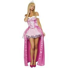 Deluxe Beauty Adult Womens Sexy Sleeping Princess Aurora Halloween Costume