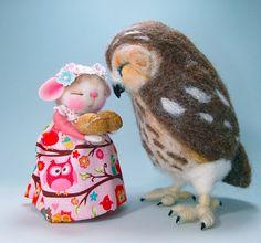 https://flic.kr/p/zma4oY | http://morninggloryworkshop53barbyanderson.blogspot.com | Helen Visser Priem made the sweet owl
