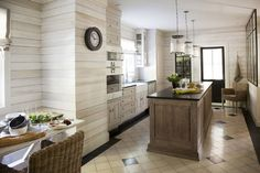 A charming european-style home in Montreal - contemporary - kitchen - montreal - Rollande Vachon owner of Moutarde Décor