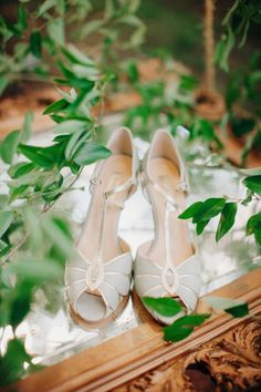 Pale blue shoes for a little something blue #cedarwoodweddings Casually Classic Eclectic :: Libby+Tim | Cedarwood Weddings