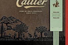 C'est à Marianne Dubuis, une artiste du Pays-d'Enhaut, que Cailler a confié le packaging de ses boîtes de pralinés destinées à être exportées.