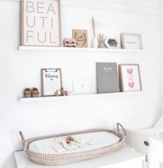 This changing basket grom Olli Ella is so beatiful for your nursery