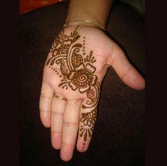 Simple Arabic Mehndi Designs For Hands 2013-2014