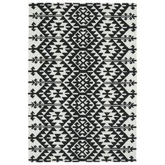 Shop for Seaside Black Global Indoor/Outdoor Rug (9'0 x 12'0). Get free shipping…
