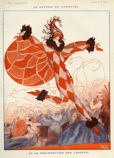 Armand Vallée (1884-1960). La Vie Parisienne, 1922. [Pinned 24-v-2015]